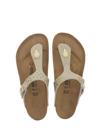 Birkenstock Gizeh Magic Snake Gold Normaal