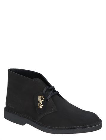 Clarks Desert Boot Evo Black Suede