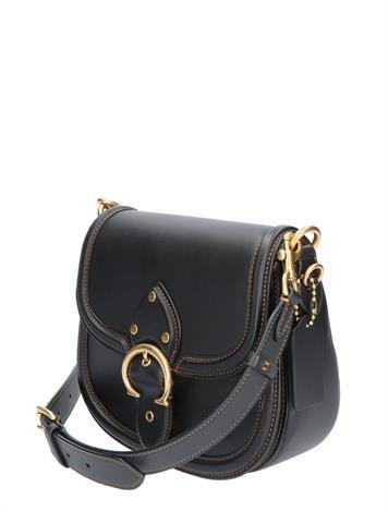 Coach Beat Saddle Bag C0749 Black