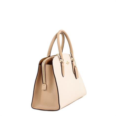 Coach Channing Carry Al In Colorblock Chalk Multi