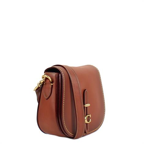 Coach Saddle 20 Saddle Brown