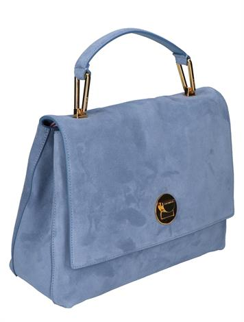 Coccinelle Liya Suede E1HD1180101 B18 Pacific Blue