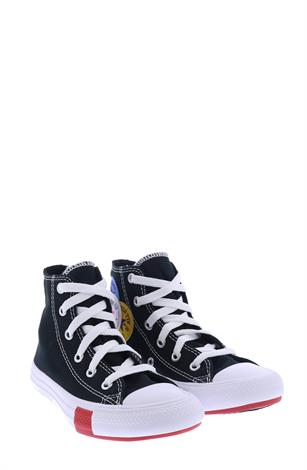 Converse Chuck Taylor AS Logo Play Black University Red