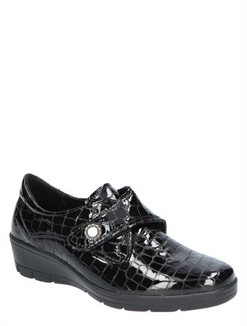 Cypres Comfort Loes 2 Black Croco G+ Wijdte