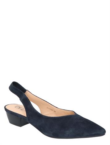 Di Lauro Kayley Blue Sheep Suede