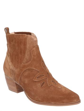 Di Lauro Maisy Mid Brown Suede