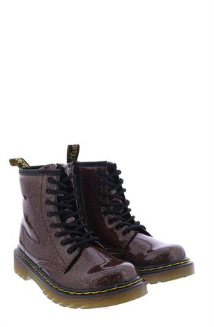 Dr Martens 1460 Glitter Rose Brown Coated