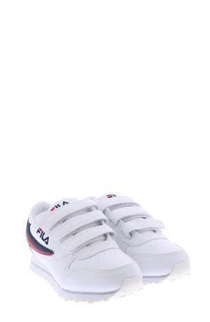 Fila Orbit Velcro Low White Dress Blue