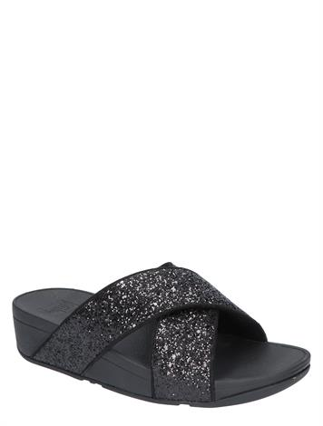 Fitflop X02 Black Glitter