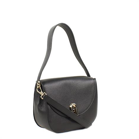 Furla Sleek S Crossbody Vitello Eracle Nero