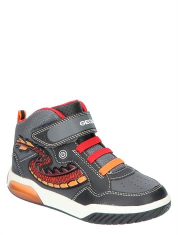 Geox J949CE Black Red