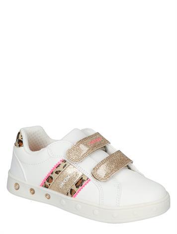 Geox Skylin Girl White/Fluo Fuchsia