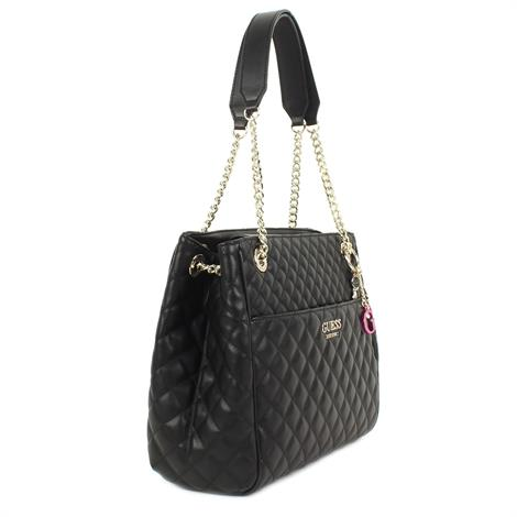 Guess Brielle LRG Girlfriend Satchell Black
