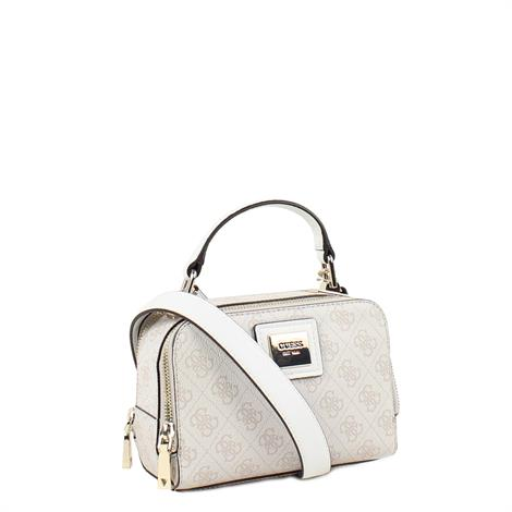 Guess Candace Mini Crossbody Stone