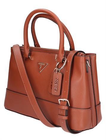 Guess Cordelia Luxury Satchell HWVG8130060 Cognac