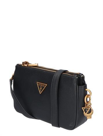 Guess Destiny Top Zip Shoulder Bag HWVB7878180 Black