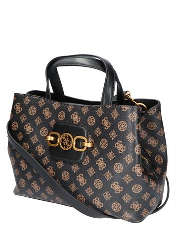 Guess Hensly Girlfriend Satchell Mocca Multi