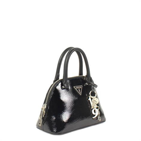 Guess Maddy Small Dome Satchel Black Multi