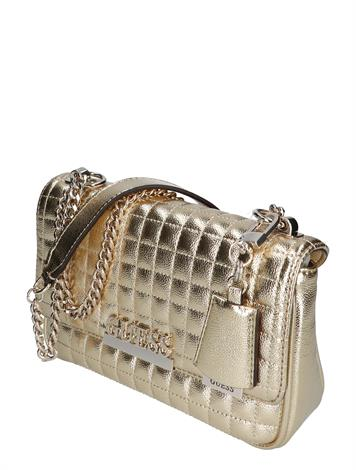 Guess Matrix Conv. Crossbody Flap Gold