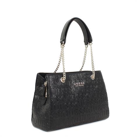 Guess Ribyn Girlfriend Satchel Black
