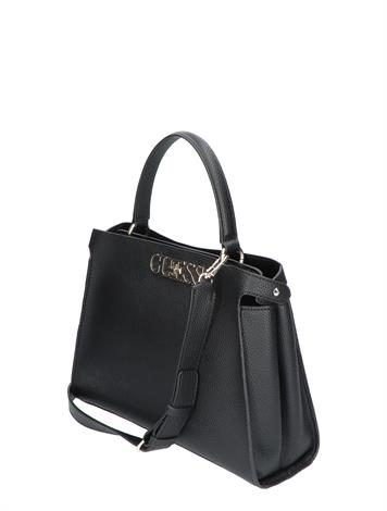 Guess Uptown Chic Large Turnlock Black