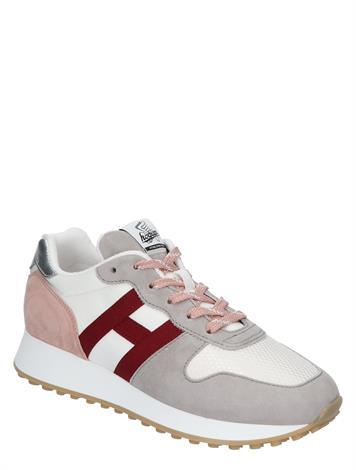 Hogan Sneaker H383 Beige Red