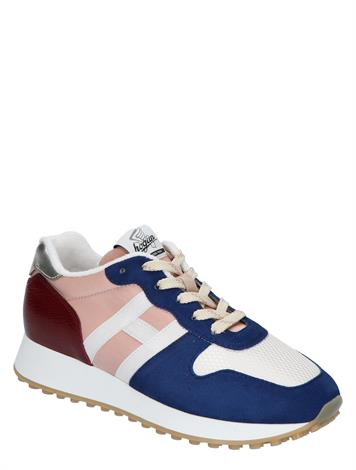 Hogan Sneaker H383 Blue Red Beige
