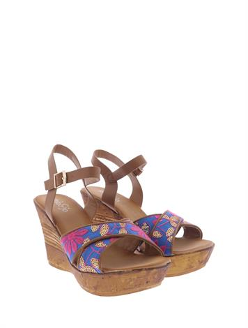 Mia & Jo Hollance Beige Blue