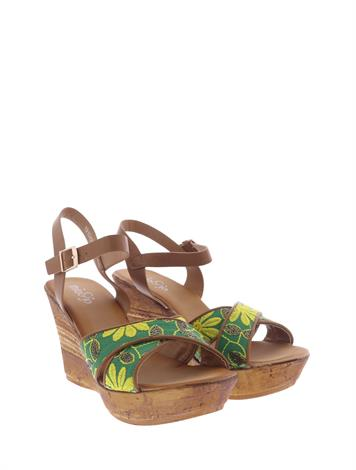 Mia & Jo Hollance Beige Green