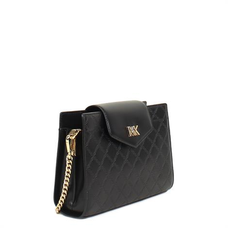 Michael Kors Convertable Large Crossbody Clutch Black