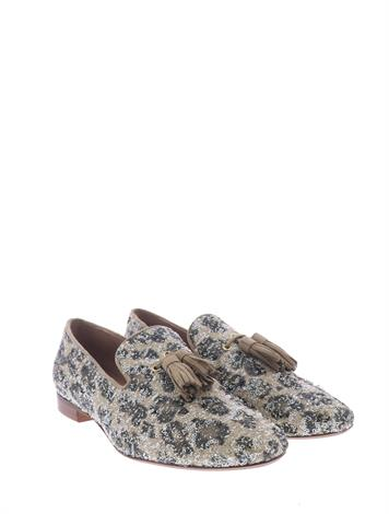 Pedro Miralles 13075-1 Kimberly Leopards Amalfi Taupe