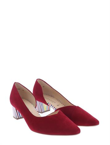 Peter Kaiser 47335  Lipstick Suede Multi Lines