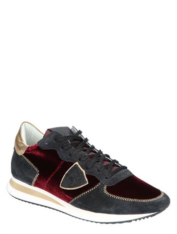 Philippe Model TRPX Low Wn Broderie Bordeaux