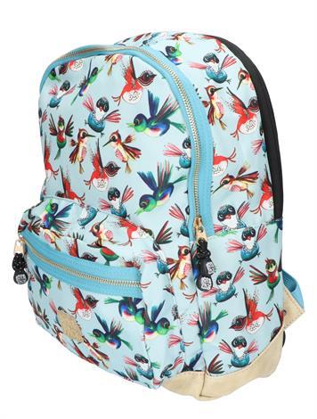 Pick en Pack Birds Backpack M Dusty Blue