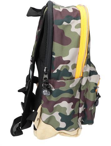 Pick en Pack Camo Backpack M Green