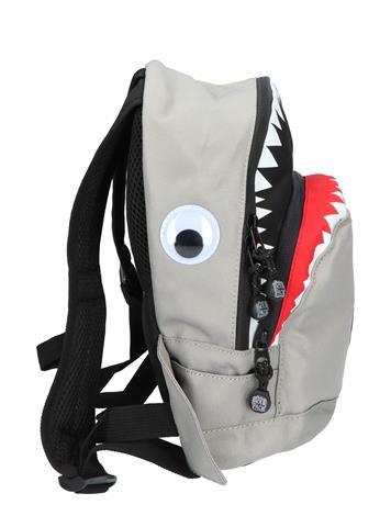 Pick en Pack Shark Shape Backpack S Grey