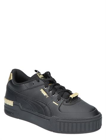 Puma Cali Sport Metallic Black Gold