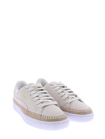 Puma Suede Sneaker Drille Off White