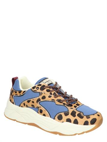 Scotch & Soda Celest Blue Leo Print