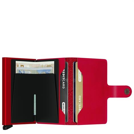 Secrid Mini Wallet Original Red Red
