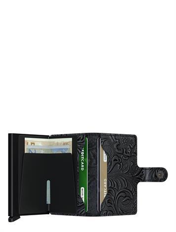 Secrid Mini Wallet Ornament MOR-Black