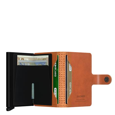 Secrid Mini Wallet Perforated Cognac