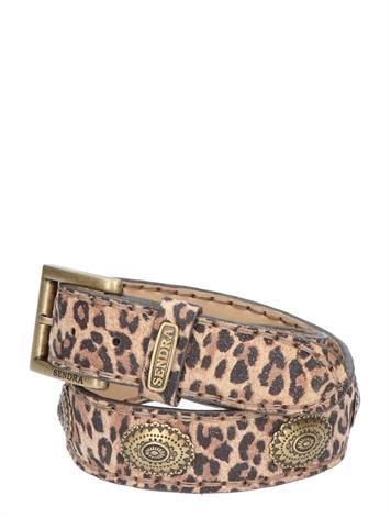 Sendra 1112 Serraje Leopardo Nat Tan