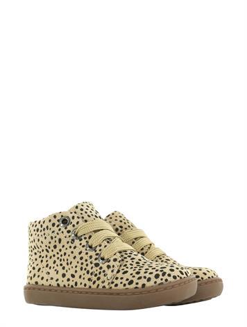 Shoesme FL21W001-C Beige Black Dots