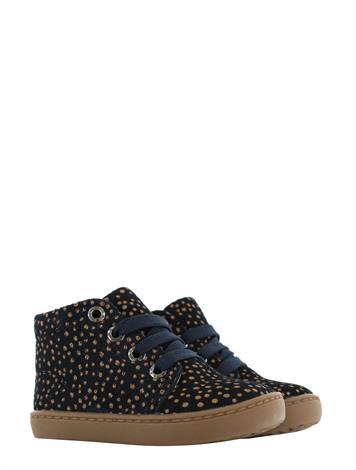 Shoesme FL21W001-D Black Brown Dots