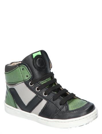 Shoesme UR21W047-A Black Green Grey