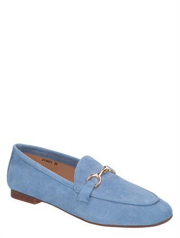 Si Mexy Light Blue Suede