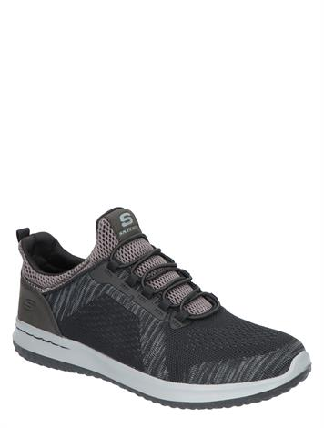 Skechers Delson Brewton Black Charcoal