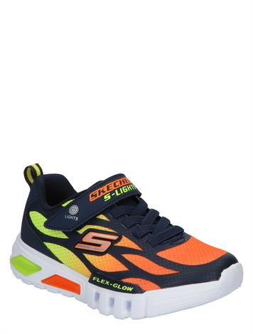 Skechers Flex Glow Blue Red