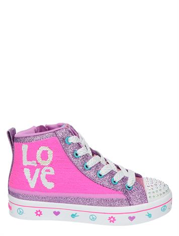 Skechers Twi Lites 2.0 Lilac Love Pink